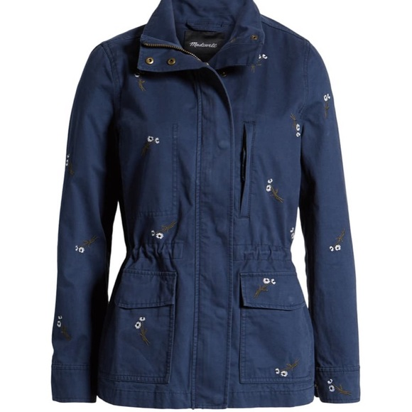Madewell Jackets & Blazers - Madewell Embroidered Passage Jacket Coat Floral